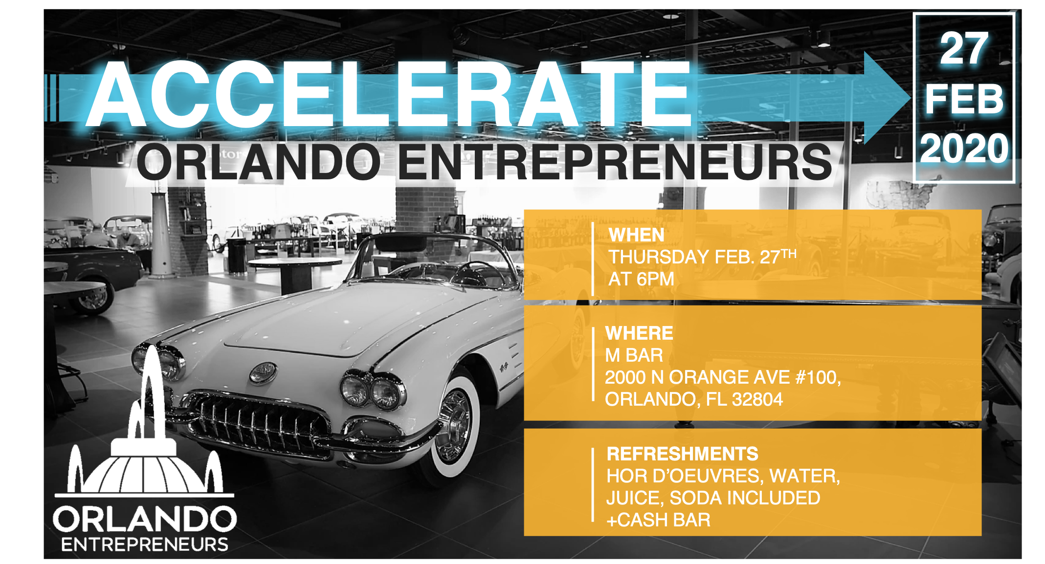 Accelerate Orlando Entrepreneurs Postponed Orlando Entrepreneurs